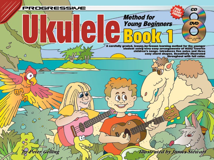 How To Play Ukulele For Kids Ukulele Lessons For Kids Book 1