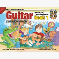 Progressive Guitar Method for Young Beginners - Book 1