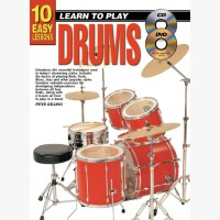 10 Easy Lessons - Learn To Play Drums