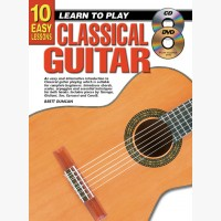 10 Easy Lessons - Learn To Play Classical Guitar
