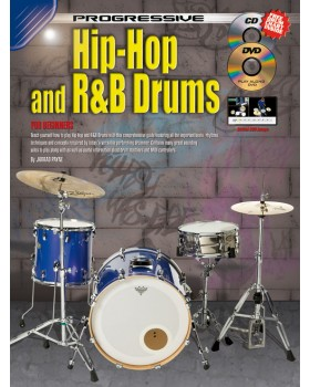 Progressive Hip-Hop and R&B Drums - Teach Yourself How to Play Drums