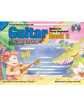 Progressive Guitar Method for Young Beginners - Book 2 - How to Play Guitar for Kids