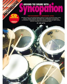 Progressive Around the Drums with Syncopation - Teach Yourself How to Play Drums
