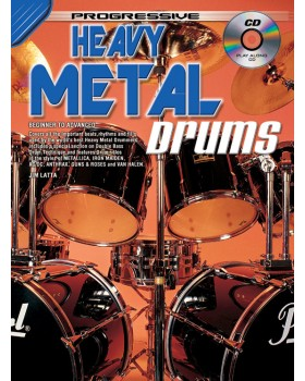 Progressive Heavy Metal Drums - Teach Yourself How to Play Drums