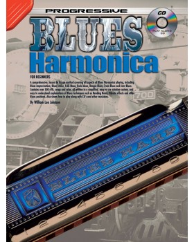 Progressive Blues Harmonica - Teach Yourself How to Play Harmonica