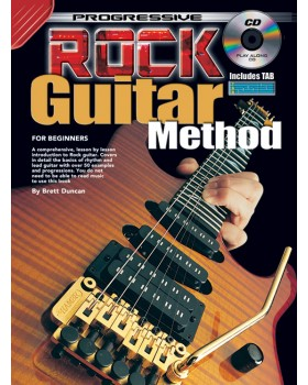 Progressive Rock Guitar Method - Teach Yourself How to Play Guitar