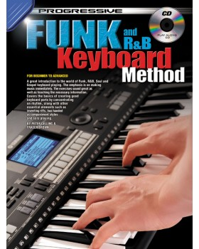Progressive Funk and R&B Keyboard Method - Teach Yourself How to Play Keyboard