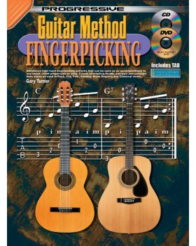Progressive Guitar Method - Fingerpicking - Teach Yourself How to Play Guitar