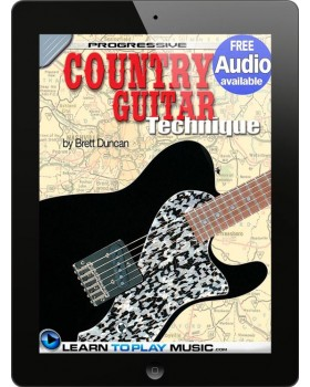 Country Guitar Lessons for Beginners - Teach Yourself How to Play Guitar (Free Audio Available)