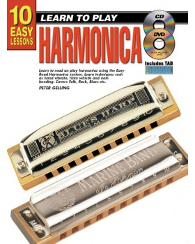 10 Easy Lessons - Learn To Play Harmonica - Teach Yourself How to Play Harmonica