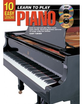 10 Easy Lessons - Learn To Play Piano - Teach Yourself How to Play Piano