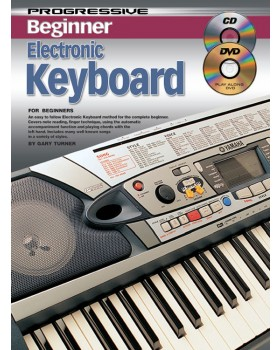 Progressive Beginner Electronic Keyboard - Teach Yourself How to Play Keyboard