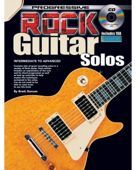 Progressive Rock Guitar Solos - Teach Yourself How to Play Guitar