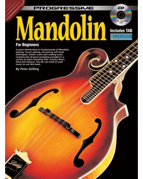 Progressive Mandolin - Teach Yourself How to Play Mandolin