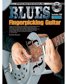 Progressive Blues Fingerpicking Guitar - Teach Yourself How to Play Guitar