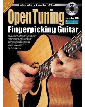 Progressive Open Tuning Fingerpicking Guitar - Teach Yourself How to Play Guitar