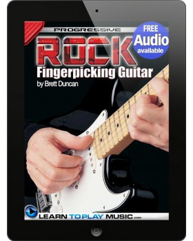 Rock Fingerstyle Guitar Lessons - Teach Yourself How to Play Guitar (Free Audio Available)