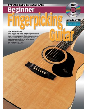 Progressive Beginner Fingerpicking Guitar - Teach Yourself How to Play Guitar