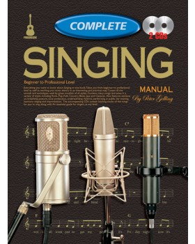 Progressive Complete Singing Manual - Teach Yourself How to Play Singing