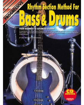 Progressive Rhythm Section Method for Bass & Drums - Teach Yourself How to Play Bass and Drums