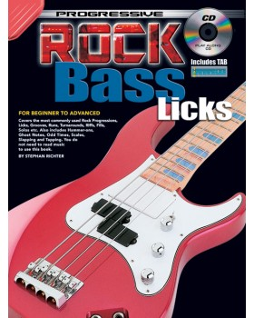 Progressive Rock Bass Licks - Teach Yourself How to Play Bass Guitar