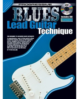 Progressive Blues Lead Guitar Technique - Teach Yourself How to Play Guitar