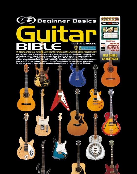 beginner basics guitar bible. Black Bedroom Furniture Sets. Home Design Ideas