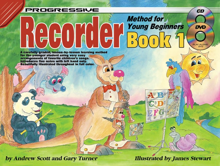 Full Color Edition Pupils Book Bk Recorder from the Beginning 1 Book 1
