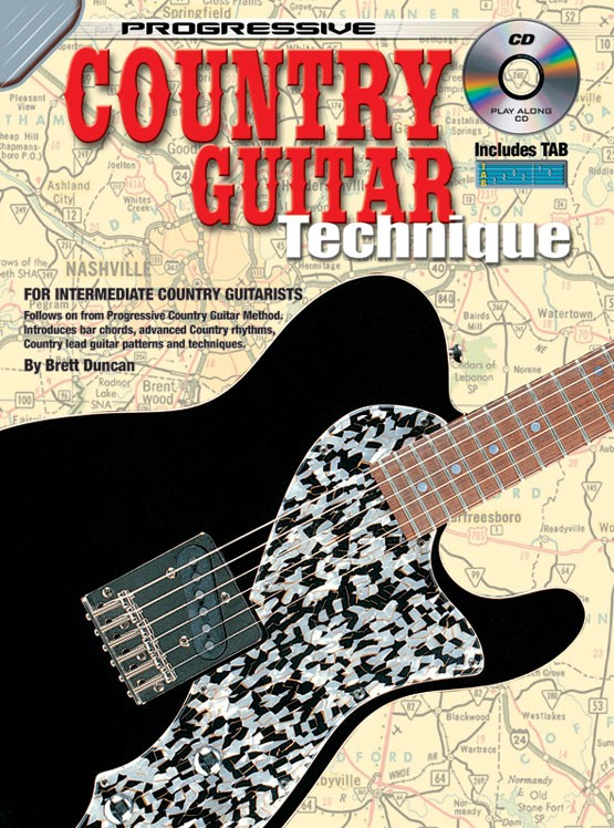Country Guitar Lessons - Learn How To Play Country Lead Guitar