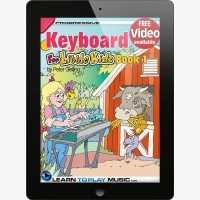 Keyboard Lessons for Kids - Book 1
