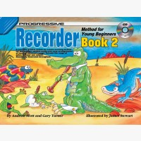 Progressive Recorder Method for Young Beginners - Book 2