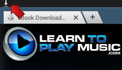 Samsung Galaxy Tab 2: Download Icon