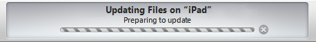 iTunes: Updating Files on iPad