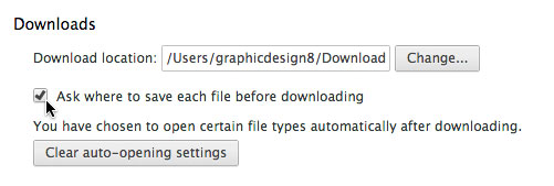 Google Chrome: Downloads