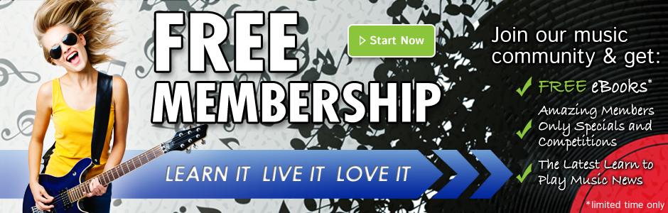 Free membership Banner