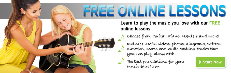 Free Online Lessons Banner